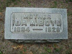 Ida Anna <i>Boening</i> Boyd