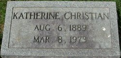 Katherine Christian