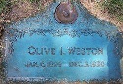 Olive I. Weston