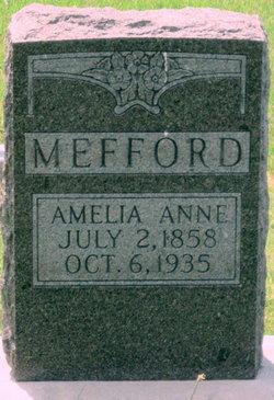 Amelia Anne Mefford
