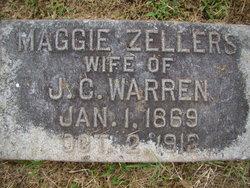 Mrs Margaret L Maggie <i>Zellers</i> Warren