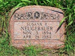 Susanna Rosina <i>Beck</i> Neugebauer
