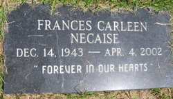 Frances Carleen Necaise