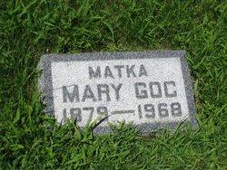 Mary <i>Wardyn</i> Goc