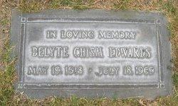 Delyte <i>Chism</i> Edwards
