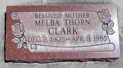 Melba <i>Thorn</i> Clark