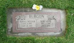 Mary Alice <i>Graham</i> Burgon