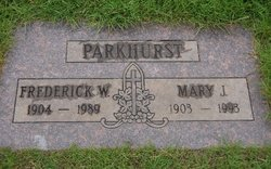 Frederick Wilbert Parkhurst