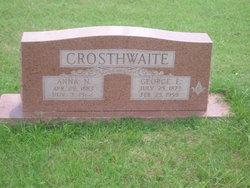 George Edgar Crosthwaite, Sr