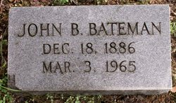 John B Bateman