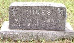 John W Dukes