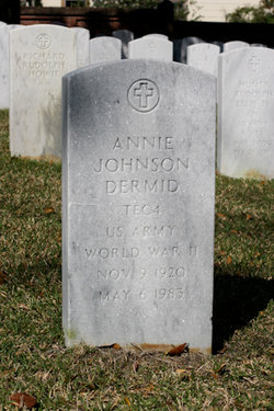 Annie <i>Johnson</i> Dermid