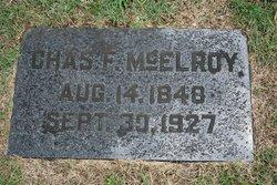 Charles Franklin McElroy