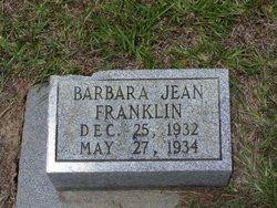 Barbara Jean Franklin