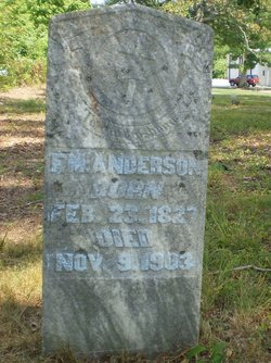 Capt Francis Marion Anderson