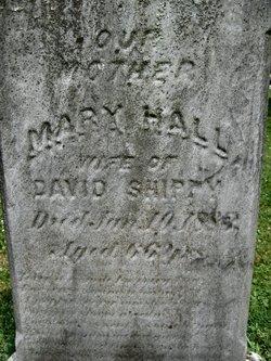 Mary <i>Hall</i> Shippey