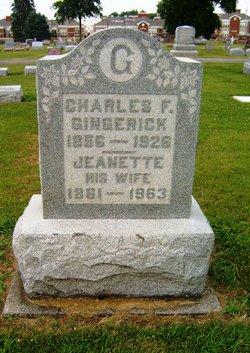 Charles F Gingerick