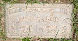 Mattie M. <i>Grigsby</i> Arnold
