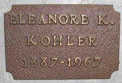 Eleanor Kentner Kohler