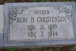 Ruby Jessie <i>Hall</i> Christensen