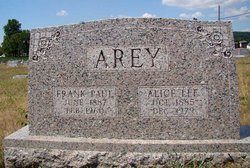 Alice Lee <i>Dean</i> Arey