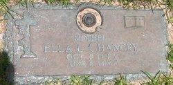 Ella Laura <i>Dewitz</i> Chancey