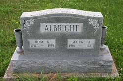 Rose E. <i>Gwinn</i> Albright