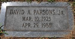 David Armstrong Parsons, Jr