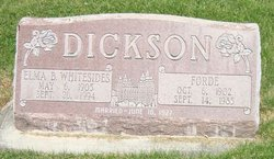 Elma B. <i>Whitesides</i> Dickson