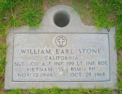 Sgt William Earl Billy/Bill Stone