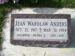 Jean <i>Wardlaw</i> Anders