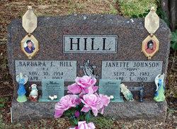 Barbara Jean B.J. <i>Hobby</i> Hill