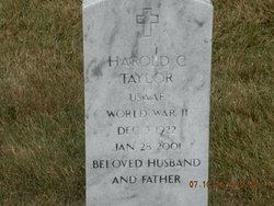 Harold C Taylor