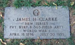 Pvt James H Clarke