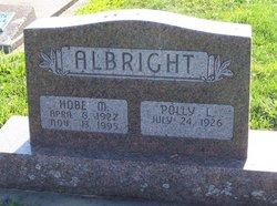 Hobart Max Hobe Albright