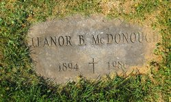 Eleanor B <i>Bunny</i> McDonough