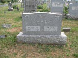 Earnest W Baker