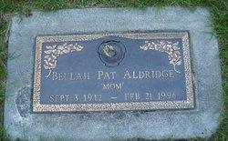 Beulah Pat Aldridge