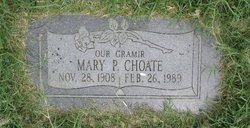 Mary P. Choate