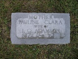 Pauline Clara <i>Wengert</i> Adamson