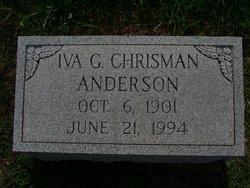 Iva E <i>Graham</i> Anderson