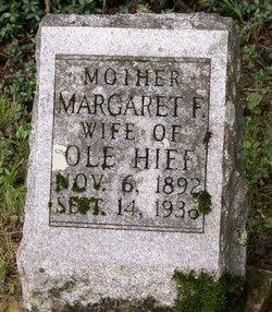 Margaret F Hief