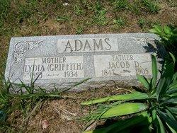 Lydia <i>Griffith</i> Adams