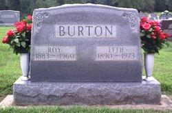 Effie Mae <i>Mohler</i> Ballard Burton