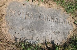 Bertha Estelle <i>Zimmerman</i> Cadwalader