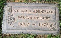 Antonette Jacobine Nettie <i>Jacobson</i> Anderson