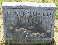 Elinor G <i>Major</i> Bertram