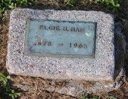 Elgie <i>Howard</i> Ham