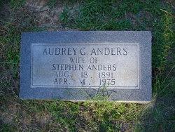 Audrey Juanita <i>Gammill</i> Anders