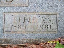 Effie M <i>Rainwater</i> Bernard